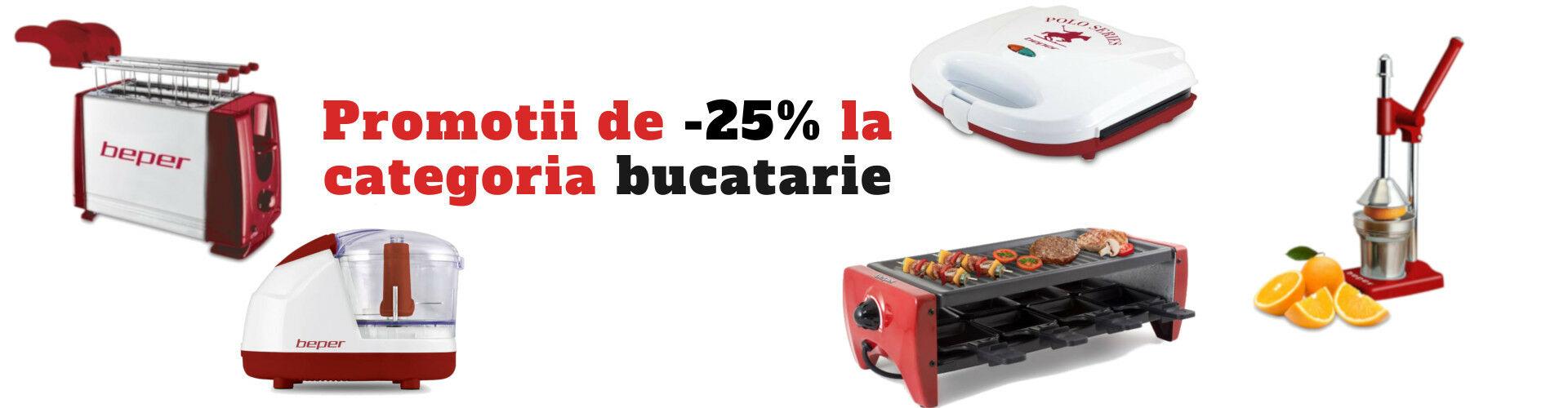 -25% bucatarie