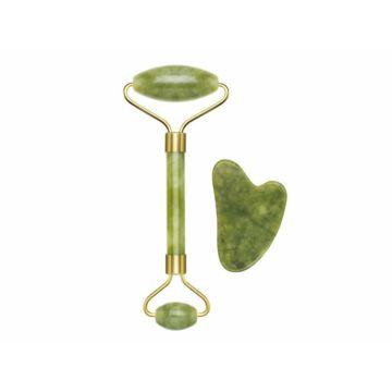 Beper C301ABE101 Rola Jade & instrument de masaj Gua Sha