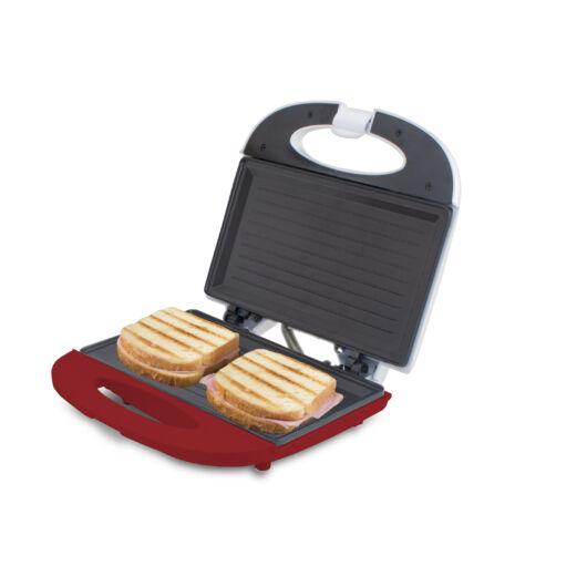Beper 90.485H Sandwich maker- alb/rosu