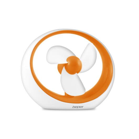 Beper VE.400A Ventilator USB - portocaliu