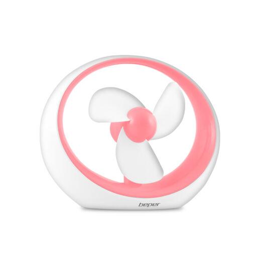 Beper VE.400F Ventilator USB - roz